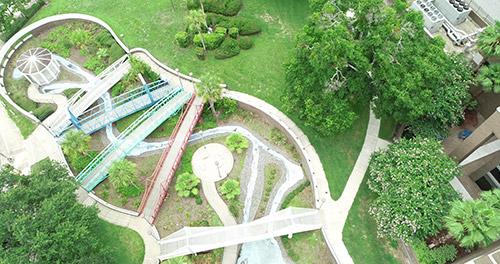 The Bloch Gardens Cancer Survivors Park
